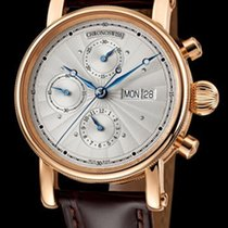 Chronoswiss Sirius Chronograph Day Date Red Gold-Silver...