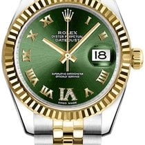 Rolex Unworn 178273 Datejust Mid Size in Steel and Yellow Gold...