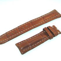 Breitling Tradema Band 18mm Croco Braun Brown Strap It18-01
