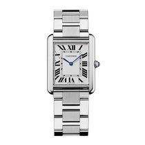 Cartier Tank Solo Quartz Mens Watch Ref W5200014