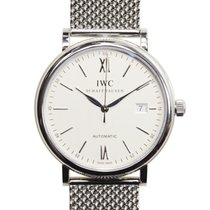 IWC Portofino Stainless Steel Silvery White Automatic IW356505