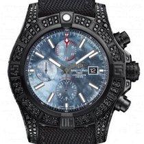 Breitling Super Avenger II   Black steel Diamonds (Limited)