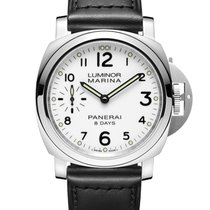 パネライ (Panerai) LUMINOR MARINA 8 DAYS ACCIAIO
