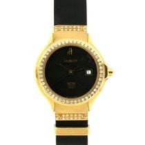 恒寶 (Hublot) Classic Lady 1391.3.054 In Oro Giallo E Caucciu