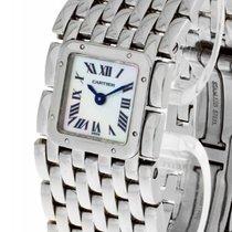 Cartier Panthere Ruban Quarz Edelstahl an Edelstahl bracelet...