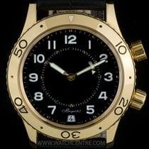 Breguet 18k Y/Gold Black Dial Type XX Transatlantique Alarm 3860