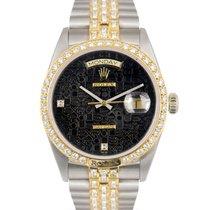 Ρολεξ (Rolex) Tridor 18k Day-Date Diamond Bezel & Dial Ref...