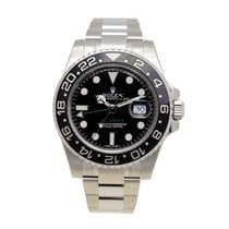 Rolex Gmt-master II Stainless Steel Black Automatic 116710LN