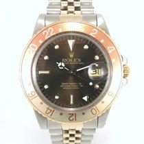 """Rolex GMT Master 16753 """"Occhio di tigre"""" full set"""