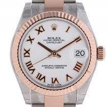Rolex Datejust Medium Stahl Roségold Everose Oyster Armband...