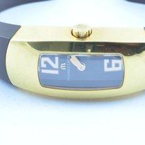 Maurice Lacroix Damen Uhr 22mm Stahl/stahl Quartz Rar Vergolde...