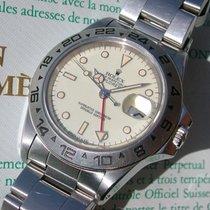 """Rolex Explorer II Ref. 16550 """"Cream Dial"""" mit Box und..."""