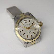 Tudor Princess Rotor Uhr Automatik Damenuhr Ø 25mm Stahl