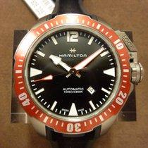 Hamilton Khaki Navy Frogman Titanium Auto -20%