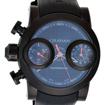 Graham Swordfish Booster Left Chrono Men's Watch – 2SWBB.R36L....