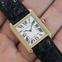 Cartier Tank Solo Small 18k Yellow Gold Quartz W5200002