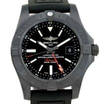 Breitling Aeromarine Avenger Ii Gmt Rubber Strap Watch M32390...
