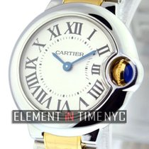 Cartier Ballon Bleu Collection Steel / 18k Yellow Gold 28mm