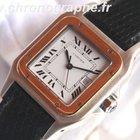 Cartier SANTOS automatique Homme OR et Acier 1997