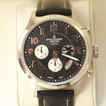 Revue Thommen . Airspeed XLarge Retro Chronograph NEU FULL SET