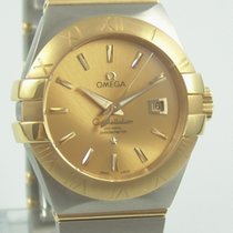 Omega Constellation Co-Axial  Stahl / Gold Special Offer