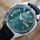 Seiko 5 Actus Mens Rare Automatic 21 Jewels Stainless Japanese...