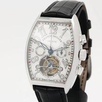 Franck Muller Cintrée Curvex TORUBILLON Chronograph in 950...