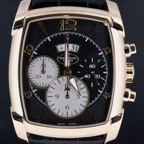 Parmigiani Fleurier Kalpagraphe Chronograph Pink Gold Croco...