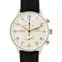 IWC Portoghese Iwiw371445 Steel, Leather, 41mm (official...