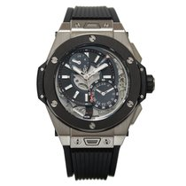 Hublot Big Bang Alarm Repeater Titanium Ceramic 45 MM