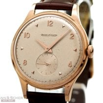 Jaeger-LeCoultre Vintage Gentlemans Watch 37mm 18k Rose Gold...