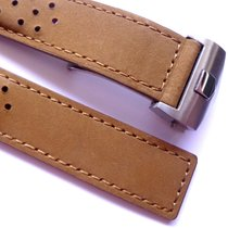 Bodhy strap 22mm nobuck brown racing strap, leather band TAG...