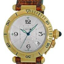 """Cartier """"Pasha de Cartier"""" 38mm Automatic Strapwatch."""