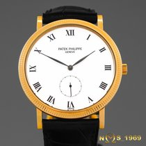 Patek Philippe Calatrava  Ref 3919  18K  Yellow Gold  Box...