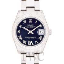 Rolex Datejust Lady 31 Purple 18k White Gold/Steel Dia 31mm -...