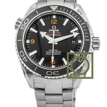 Omega Seamaster Planet Ocean black 45.5mm 600m orange number...