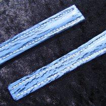 Breitling Haiarmband 16/14mm Blau Blue Für Faltschliesse