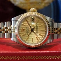 Rolex Oyster Perpetual Datejust 2-tone 18k Yellow Gold &...