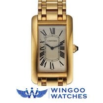 Cartier Tank Américaine 18k Yellow Gold Ref. 1735.1