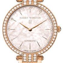 Harry Winston Premier 18K Rose Gold & Diamonds Ladies Watch