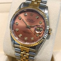 Rolex Oyster Datejust Jubilee Gold Steel Cream Dial 36mm (Ful...