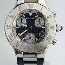까르띠에 (Cartier) 21 Chronoscaph 32mm Stainless Steel REF:W10198U2