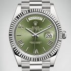Rolex [NEW RELEASE 全新推出勞力士型號] Day-Date 40mm 228239 WG Olive Green