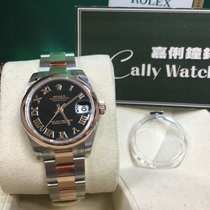 Rolex Cally - 178241 31mm Datejust Black Roman Dial [NEW]