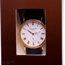 Patek Philippe Calatrava Ref-5119R-001 18k Rose Gold Papers...