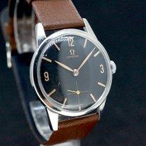 Omega Black dial Caliber 268 Handaufzug aus 1961