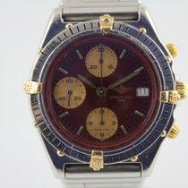 Breitling Windrider Chronomat B13047 #A3161 Gold / Stahl