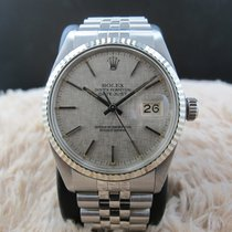 Rolex DATEJUST 16014 Stainless Steel Original Silver Texture Dial