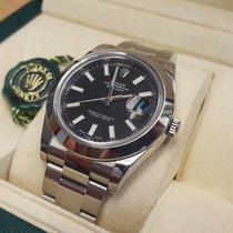 Rolex Datejust II 41 mm Index schwarz