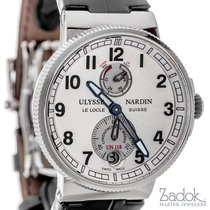 Ulysse Nardin Marine Chronometer 43mm Automatic Watch White...